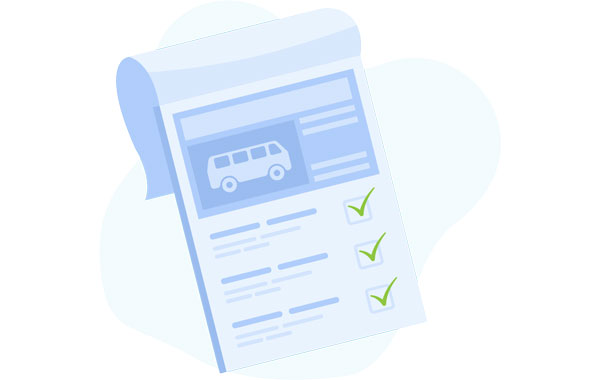 Contract bus services graphic