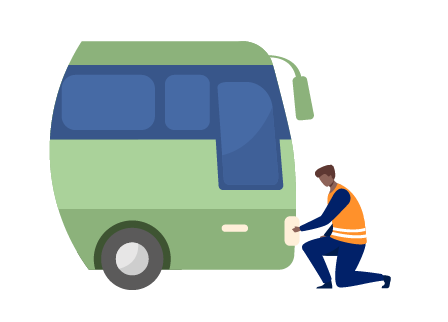 Vehicle Maintenance System for Private Minibus Fleets graphic